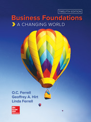 Business Foundations: A Changing World 12th Edition